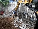 軽量鉄骨造の解体工事のご紹介です