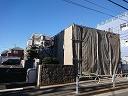 事務所兼住宅の解体工事のご紹介です