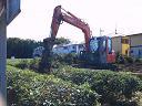 茶畑を造成する工事のご紹介です