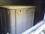 貯水槽及び加圧ポンプの水道配管撤去工事を紹介します。no.1