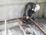 貯水槽及び加圧ポンプの水道配管撤去工事を紹介します。no.5