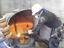 貯水槽及び加圧ポンプの水道配管撤去工事を紹介します。no.4