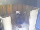 貯水槽及び加圧ポンプの水道配管撤去工事を紹介します。no.3