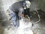貯水槽及び加圧ポンプの水道配管撤去工事を紹介します。no.6