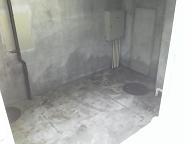 貯水槽及び加圧ポンプの水道配管撤去工事を紹介します。no.8