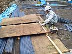 コンクリート擁壁造成工事のご紹介です。NO.6