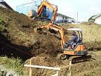 コンクリート擁壁造成工事のご紹介です。NO.2
