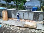 コンクリート擁壁造成工事のご紹介です。NO.14