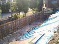 コンクリート擁壁造成工事のご紹介です。NO.12