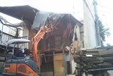 23区内木造住宅解体工事のご紹介です