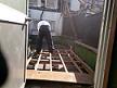 屋上増築部分の部屋の解体工事です