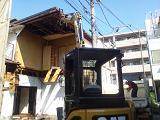 多摩地区での木造住宅解体工事のご紹介です