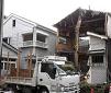 木造3棟の解体工事です