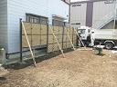 フェンス設置工事のご紹介です